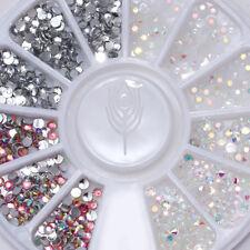 Jelly Resin 3D Acrylic Nail Art Studs Flatback Rhinestone Gems DIY Decoration