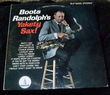 Boots Randolph's YAKETY SAX! LP Album - Vinyl Monument Records SLP 18002