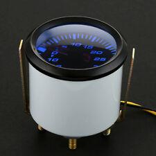 "2 ""52mm LED Coche Turbo Aumentar cara Turbo Boost Gauge-1 a 2Bar medidor presión"