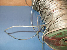 NOS VINTAGE PINBALL MACHINE REAL SOLID NICKLE BRAIDED GROUND WIRE $1.00 A FOOT
