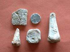 Roman lead trade weights 3rd Century A.D. LOT X5