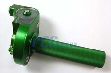 "THROTTLE CLAMP HONDA 7/8"" GREEN CNC CRF70 KLX110 SDG SSR 110 125 PIT BIKE U CL09"