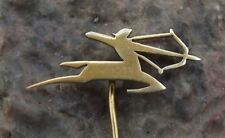 Air India Saggitarius Archer Logo Indian National Airlines Aircraft Pin Badge