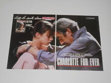 Charlotte Gainsbourg Nina Hagen Eurythmics Lone Justice Status clippings France