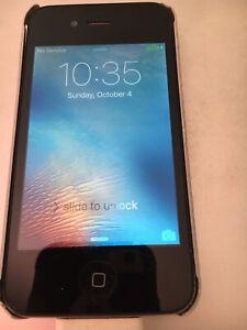 Apple iPhone 4 16GB - Black  (AT&T)