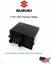 Suzuki Relay to slow down LED Turn Signal Flasher rate 7-Pin