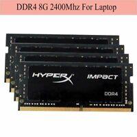 Para Kingston HyperX Impact 8GB 16GB 32GB DDR4 PC4-19200 2400MHz Laptop RAM ES