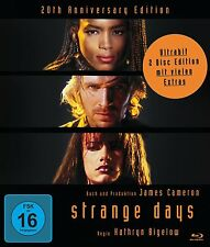 STRANGE DAYS (20th Anniversary Edition 2 disc) Blu Ray - Sealed Region B for UK