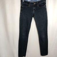Gap 1969 Women Size 27/4r Always Skinny Jeans Blue Denim Dark Wash