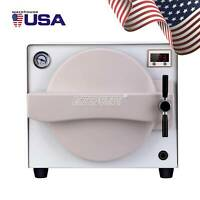 Dental Lab Equipment 18L Medical Steam Autoclave Sterilizer Device Protection