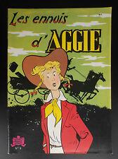 Aggie les ennuis  N° 9 réed  1983 SPE Jeunesse joyeuse  ETAT NEUF