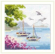 Alisa Counted Cross Stitch Kit - Sea View - 0-203