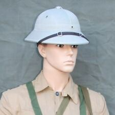 VIETNAM WAR ARMY KHAKI NVA / VC PITH HAT - VIETNAM WAR  - COSPLAY STEAMPUNK
