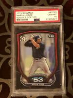 2015 Bowman AARON JUDGE Scouts Top 100 BTP53 PSA 10 ROOKIE Yankees RC