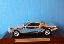 FORD MUSTANG SHELBY 350 GT 1965 1/43 CHROME IXO 1:43