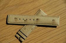 Camille Fournet 20mm Gucci Short  Ostrich Watch Strap