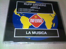 RUFF DRIVERZ / ARROLA - LA MUSICA - 3 MIX HOUSE CD SINGLE