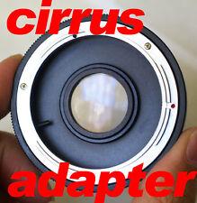 FD adapter to EF Canon Eos 7D 550D Rebel XT XS T2i T1i
