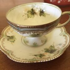 Pair Of R S Prussia Cup And Saucer