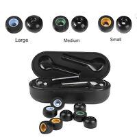 6* Ear Tips Memory Foam für Jabra Elite 65t Samsung Gear IconX Galaxy Headphones