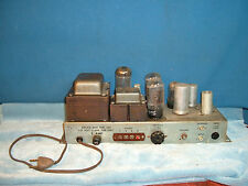 6L6 GC USA times two TUBES one MONO BLOCK AMPLIFIER no power up