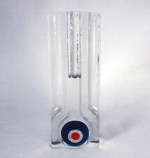 "Scandanavian or German Mid Century Art Glass 7.75"" Bud Vase - Pukeberg, Walther"