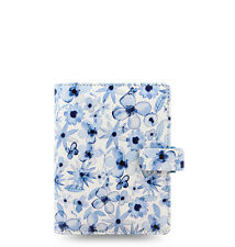 Filofax Patterns Organizer Indigo Floral - Pocket - 027043 - 2018 Diary