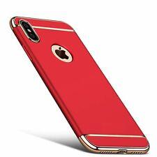 Apple iPhone X / XS Hülle Case Handy Cover Schutz Tasche Schutzhülle Bumper Rot