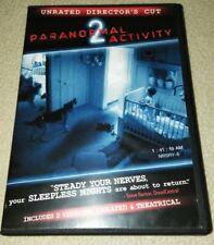 Paranormal Activity 2 (DVD, 2011) *HORROR *HALLOWEEN