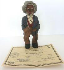 "All God'S Children 8.5"" Uncle Bud Figurine W/ Coa & Box"