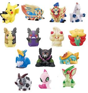 "Pokémon kids ""Galar selection"" Soft vinyl Figure Finger puppet Japan"