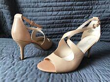 NINE WEST  leather shoes sz 8.5   M  NEW