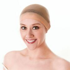 WIG CAP NATURAL / NUDE COLOUR STRETCHES OVER HEAD UNDER WIG