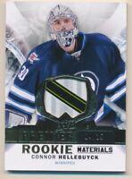 2015-16 Upper Deck Premier Premier Rookie Materials Connor Hellebuyck Patch /25