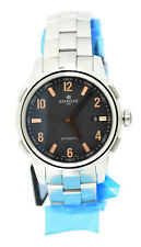 Perrelet Class-T Black Dial Stainless Steel Watch A1068/C