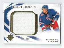 10-11 UD Ultimate Debut Threads  Derek Stepan  /200  Jersey  Rookie