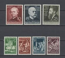 Danzig German Occupation 2 Full Sets   MLH.