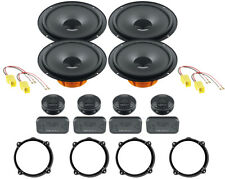 Set 8 Lautsprecher Lautsprecher vorne und hinten Hertz DSK165.3 Alfa Romeo 147