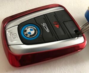TPU Smart Remote Key Shell Cover Fob Skin Case Fit For BMW i3 i8 electric car