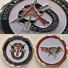 7th Special Forces Group Airborne ODA-734 EGLIN AFB - Lo Que Saa Challenge Coin
