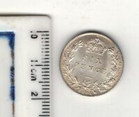 QUEEN VICTORIA. 1901. SIXPENCE. . B.UNC. COND..  SEE PICTURES