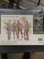 1/35 masterbox British paratroopers World War Ii, operation Market Garden 1944
