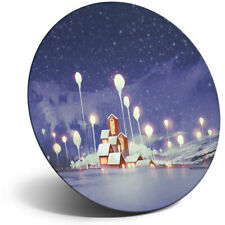 Awesome Fridge Magnet - Beautiful Christmas Village Art Cool Gift #14100