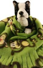 TWELVE MONKEYS Fuzee Fleece Dog Blankets, Soft Pet Blanket Travel Throw Cover