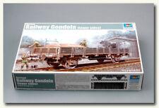 Trumpeter Model kit 1/35 German Railway Gondola (Lower sides) #1518