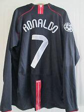 Manchester United 2007-2009 Ronaldo 7 Away Football Shirt XL Long sleeves /39364