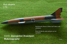 EMW Interglobal-Transportprojekt       1/72 Bird Models Resinbausatz / resin kit
