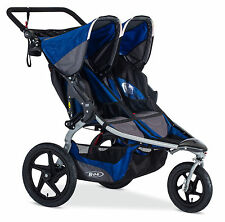 Bob 2017 Revolution Duallie Double Stroller Stroller Strides Blue Free Shipping!