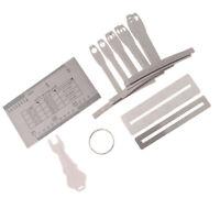 Lovoski Guitar Repair Maintenance Kit with Ruler Pin Puller Luthier Tools