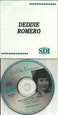 DEDDIE ROMERO Palabras De Amor ULTRA RARE 1994 PROMO Radio DJ CD single